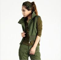 Wholesale Women s fashion personality handsome outdoor sports leisure travel essential quality cotton vest vest