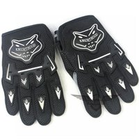 Wholesale Brand New Motorcycle Gloves Good Quality Black Motorcycle Mountain Road Cycling Racing Gloves Size Medium