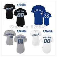 custom baseball jersey - 2016 New Cheap Custom Toronto Blue Jays Baseball Jerseys Customized Personalized Stitched Cool Base Jerseys For Any Name Any Number
