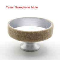 Wholesale Aluminum Mute Silencer for Tenor Saxophone Sax Metal Dampener Light weight Design Saxophone Accessories order lt no track
