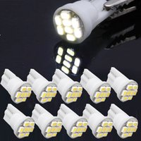 Wholesale Car Led Lights Bulbs White T10 SMD LED Wedge Side Light Bulb Lamp W5W for Car V