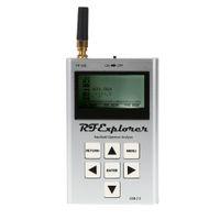 Wholesale Seeed M Mini Pocket LCD Display RF Explorer Digital USB Spectrum Analyzer High Capacity Lipo Analizador de espectro order lt no track