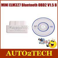 Wholesale MINI ELM327 Bluetooth OBD2 V1 B