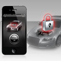 alarm decode - SteelmateA881 Car Engine Center Lock Unlock for Smartphone Bluetooth Connection Smart Anti decoding Alarm for iOS Andriod System K2596