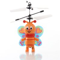 bee helicopter - induction bee flying toys gesture control aircraft with USB charger intelligent identification helicopters toys in high quailty