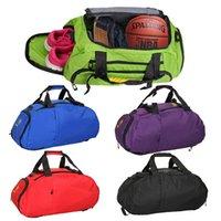 Wholesale 2015 Popular Waterproof Outdoor Sports Bag Duffle Gym Bag Sports Bag Travel Bag Independent Shoe Bit