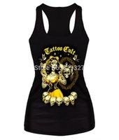 Cheap Drop Shipping New 2015 Women Casual T-shirt 3d Print Tops Sexy Punk Camisole Summer Clothing
