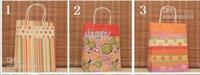 Cheap kraft paper bag Best Festival gift package