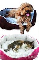 Wholesale Free shiping Cashmere like soft warm Pet Bed Pet Nest luxury Dog nest Luxury warm round WY131 p