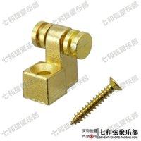 ball bearing press - Electric guitar headstock ball bearing press string buckle steady string device string lock buckle gold plating iron