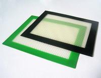 Wholesale Popular platinum cured Food grade small size x127mm non stick oil slick silicone dab mat pad