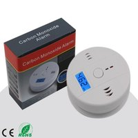 Wholesale Home Security Safety CO Gas Carbon Monoxide Alarm Detector Office Good Quality