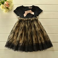 TuTu kids fashion - 2015 Summe New Girls Dresses Short Sleeves Lace Dress Kids Cute Lace Dresses Children s Tutu Dress Girl Party Dress kids fashion dress