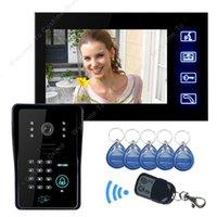 Wholesale quot Color Door Phone Intercom Doorbell Camera Viewer Access Control Night Vision