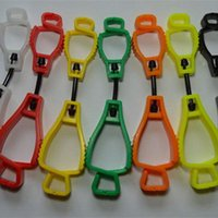 Wholesale 128 mm metal detectable plastic Glove Clip protective Holder safety work gloves Guard