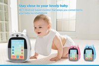 baby intercom monitor - Baby Video Monitor with LCD Display