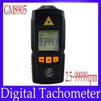 Wholesale digital speedometer tachometer GM8905 measure range rpm MOQ
