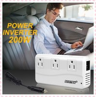 Wholesale Car inverter Bestek W Power inverter car V turn V USB Charging Ports socket automotive power converter cigarette lighter charger