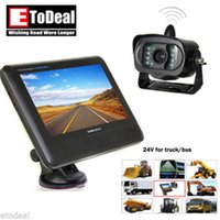 Wholesale 2 G Wireless Car Rear View Camera and inch LCD Video Monitor Kit