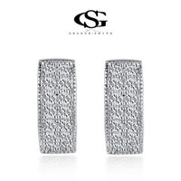Wholesale 015 G S Party s Summer Gift Classic Genius Zircon Statement Clip Heart Earrings Fashion Jewelry For Women Party Wedding