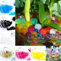 water beads for wedding - 1000pcs Crystal Mud Plant Soil Water Beads Gel Jelly Balls Beads For Flower Home Wedding Christmas Party Decor Multi Colors Available