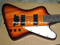 Wholesale IV Bass Guitar BURST NEW Strings Bass THUNDERBIRD Sunburst Bass Guitar
