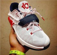 Low Cut Men Summer KD 7 Independence Day Basketball Shoes men athletic shoes