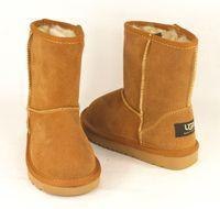 australian sizes - New Classic boots Winter waterproof children s boots warm winter boots girls boys kids snow boots Australian snow boots glitter2009