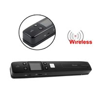 Wholesale iScan Wireless Wifi Portable Digital Document Scanner Handheld Scanner DPI Double Roller Drive Scanning