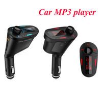 Wholesale Wireless LCD transmitter Car mp3 player MP3 WMA USB SD MMC SD Card USB Port FM radio mp3 music player Multi Color