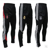 Wholesale Style Football Pants Soccer Training Pants Leg Pants Legs Track Casual Pants Breathable Sports Trousers Tracksuit
