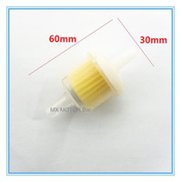 Wholesale Fuel tank plastic filter with magnet ring for Mini motor mini dirt bike fuel tank fuel reservoir Garden tools fuel tank filter