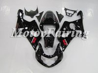Wholesale Free Gifts Body Fairings for GSXR1000 K1 GSXR GSX R1000 GSXR ABS Injection glossy black seatcowl