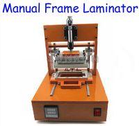 frame moulding - 2014 Newest Middle Bezel Frame Laminating with Two Mould for iPhone Frame Laminator Manual Frame Laminating Machine
