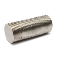 Wholesale Price Strong N35 Neodymium Magnets Disc Cylinder Rare Earth Fridge x1mm New Magnet