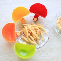 Wholesale Set Kitchen Seasoning Dish Clip Tomato Sauce Salt Vinegar Sugar Flavor Spices Clips Sauce Creative Bowl Kit Tools
