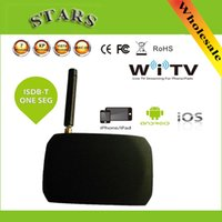 digital satellite receiver hd - HD Digital Wirelss WiFi Mobile DVB T ISDB T Satellite Live TV Link Tuner Stick Receiver For iPad iPhone Android Pad Phone Tablet