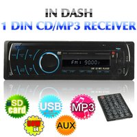 Wholesale car dvd Brand New DIN CAR VIDEO AUDIO WMA VCD DVD CD MP3 MP4 USB PLAYER DETACHABLE PANEL FM AM order lt no track