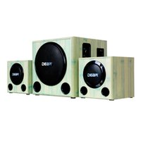 Wholesale Bluetooth PC multimedia speakers Seoul AI16 Bluetooth subwoofer speakers all wood active speaker