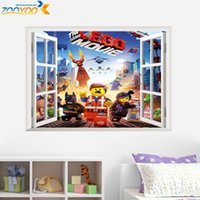interior decor - R ninja game wall stickers ZooYoo1422 d boy game decal home interior decors hot sellings self dhesive wallpapers