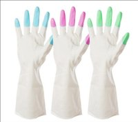 Household Gloves - Household Cleaning Tools Household Gloves Household cleaning waterproof rubber gloves