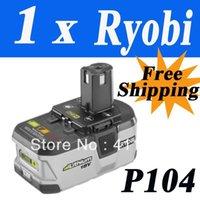 Wholesale Pack x RYOBI V Li Ion Tool battery high capacity powerful P104 ONE Volt MOQ order lt no track