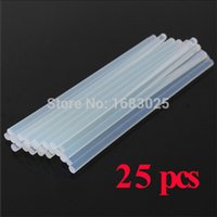 Wholesale New Design mmx200mm Clear Glue Adhesive Sticks For Hot Melt Gun Car Audio Craft transparent For Alloy Accessories