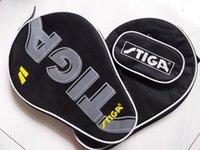 Wholesale Stiga table tennis racket bag pingpong racket bag