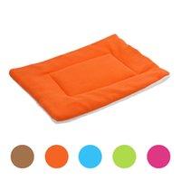 Wholesale Newly Design Soft Fleece Warm Dog Bed Pet Dogs Blanket Winter Sleep Mat For Puppy Cat July27