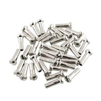 Wholesale 36PCS Stainless Steel Spokes Mountain Bike Bicycle Cycling mm with Nipples Black Useful