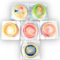 Wholesale High Sensation Class Female G spot Vaginal Stimulation Condoms Multi Kind Sophora Viciifolia Set LS YP0066