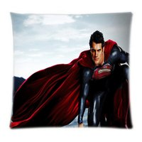 best superman covers - Best Luxury Superman home textile bedding set Soft Cover x16 x18 x20 x24 inch Two Sides pillow case
