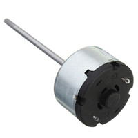 ball bearing tracks - New Arrival Long Axis DC12V rpm Toy Motor Front Ball Bearing Motor order lt no track
