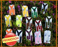 Wholesale 4 Pieces Promotion Sale Kids Toddlers Suspenders cm cm Elastic Adjustable Clips on Y Back Boys Girls Colors